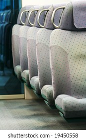 Seats in a Train (Airport express, Hong Kong)