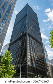 Seattle Downtown. Office Buildings. Washington, USA.