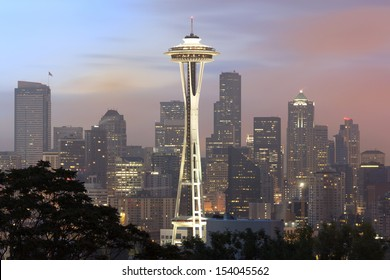 Seattle in the Early Morning