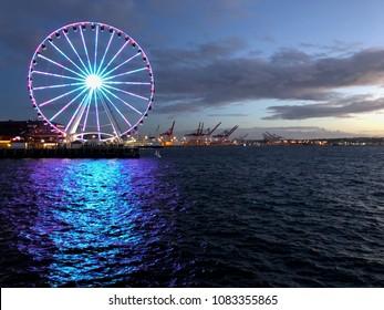 Seattle Great Wheel: Seattle's Ferris Wheel at Pier 57
