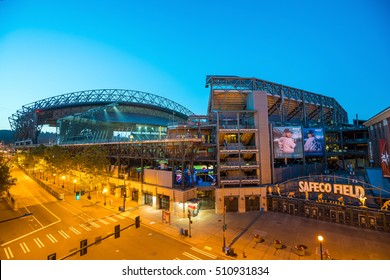 SEATTLE - JULY 29: CenturyLink Field, Seattle in July 29, 2016. It was originally called Seahawks Stadium but was renamed Qwest Field on June 23, 2004