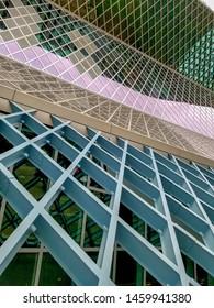 Seattle Public Library Architecture Detail