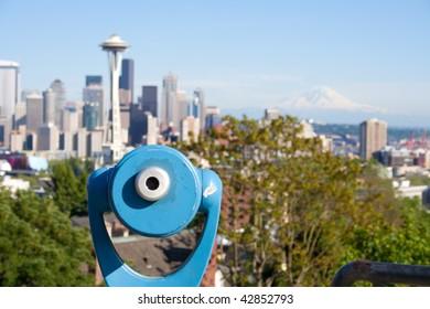 Seattle scenic overlook