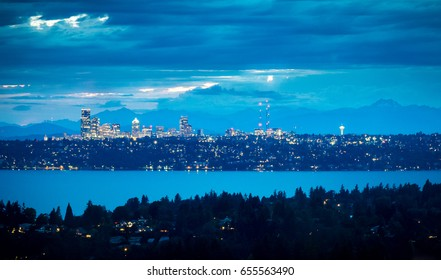 Seattle Skyline from Bellevue