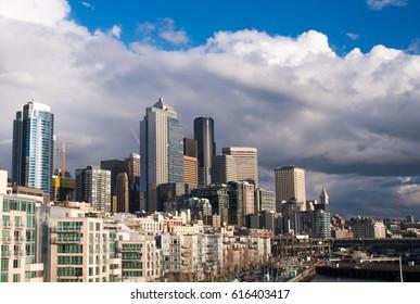 Seattle Skyline on a sunny day