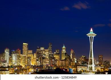 Seattle skyline, WA, USA
