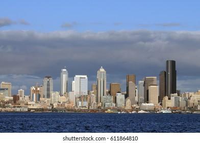 Seattle sun light, USA