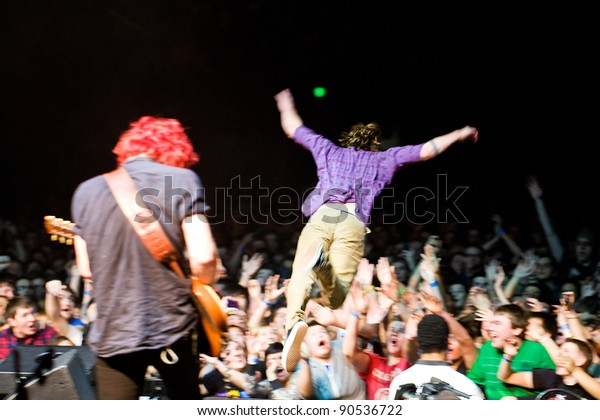 Seattle Wa December 7 Rock Band Stock Photo Edit Now 90536722