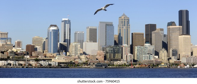 Seattle, WA, from Puget Sound