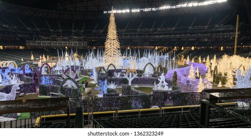 Seattle, Washington - 2018-12-09 - Enchant Christmas Event at Safeco field