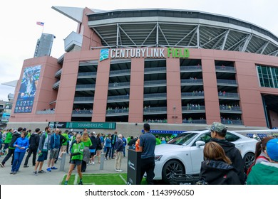 Seattle, Washington - June 30, 2018 : CenturyLink Field (Seahawks Stadium), Seattle, USA