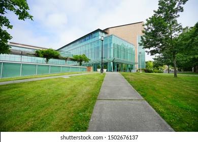 Seattle, Washington / USA - 06 20 2016 : Building of University of Washington at Seattle