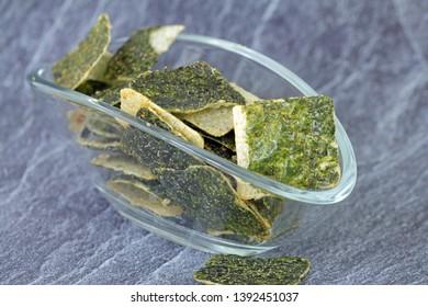 seaweed rice crip with Chili
