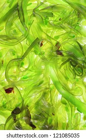 Seaweed Salad for background