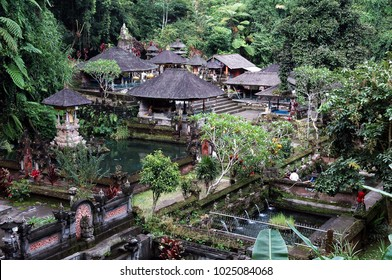 Sebatu Temple in Ubud, one of the most popular tourism object, Bali.