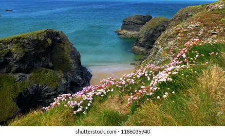 Secluded Cornish Beach