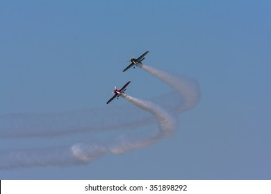 Second airshow held in Cadiz, Andalusia, Spain.                              Festival Aereo de Cadiz September 13, 2009