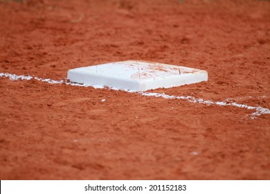 Second Base on the field