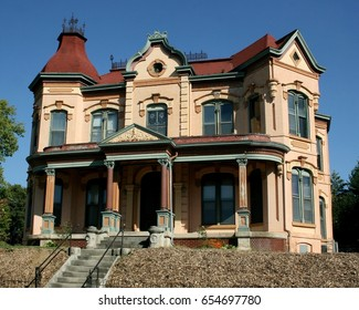 Second Empire architecture Victorian house in United States