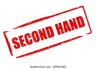 Second hand stamp