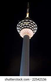 second tallest tower in a heart of kuala lumpur city