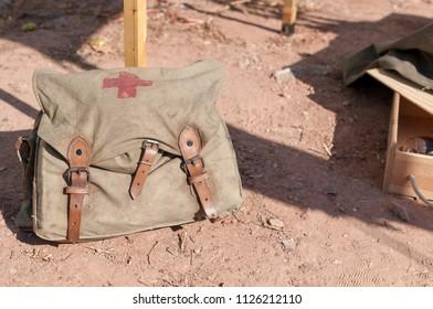 Second World War First Aid Bag