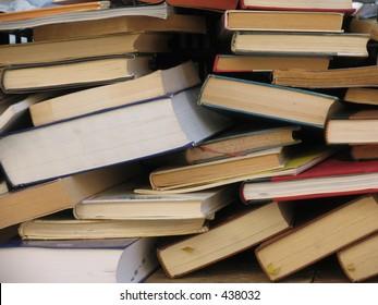 Second-hand books.