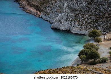 Secret Beach in Kalymnos Island,Greece