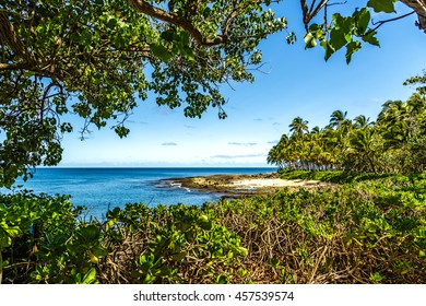 Secret Beach at Ko'olina on the Leeward side of Oahu, Hawaii