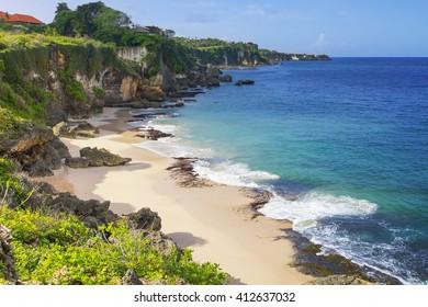 Secret Jimbaran beach, Bali, Indonesia