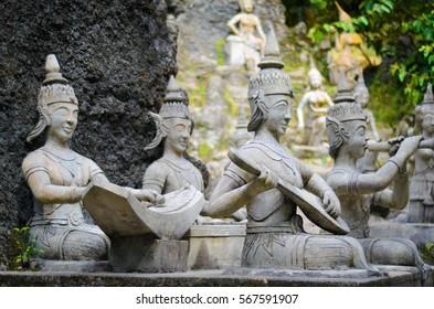 The secret and magic garden in Koh Samui, Thailand