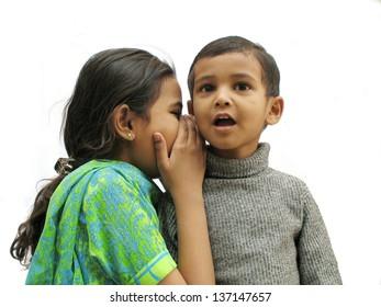 Secret talking in pakistani Sibling