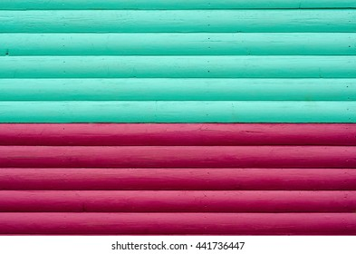 Section of claret and blue wood panelling from a seaside beach hut. Ideal as a background for seaside or holiday themes. Also football colours West Ham, Burnley, Aston Villa and Scunthorpe.