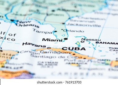 Miami World Map Stock Images RoyaltyFree Images Vectors