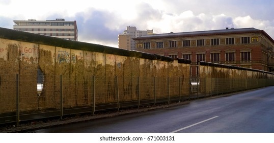 Section of the original Berlin wall