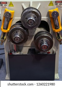 Section and pipe bending machine, Industrial machining metalwork