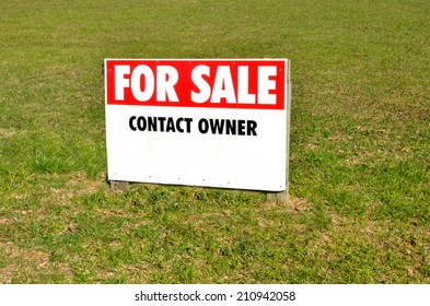 Section for sale sign in a suburb.Concept photo of home, house, housing , real estate, property ,market, buy, sale, section, land. with copy space
