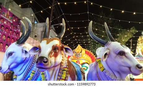 Secunderabad Telangana India August 19th 2018 At an Indian festival