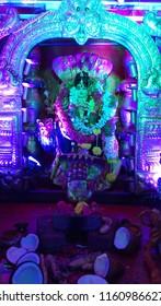 Secunderabad Telangana India August 20th 2018 Indian Goddess at a festival
