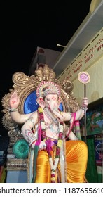 Secunderabad Telangana India September 23 2018 At a lord Ganesh festival in India