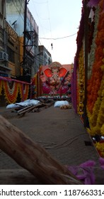 Secunderabad Telangana India September 23 2018 At a Ganesh festival in India