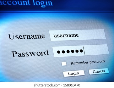 secure account login sequence