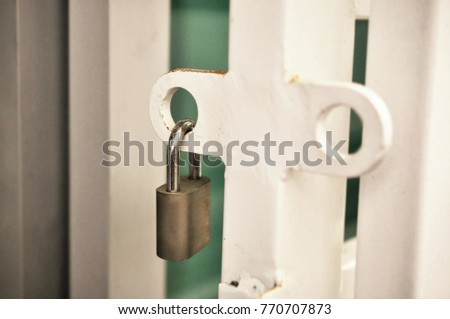 Lock your door Hand Dont Forget To Lock Your Door Grill For Safety Prevention Toms River Police Department Secure Concept Dont Forget Lock Your Stock Photo edit Now