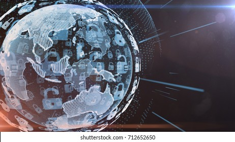 Sicheres globales Finanznetz Blockchain Krypta Währungen Bitcoin Ethereum