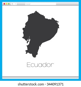 A Secure Web Browser with the Country of Ecuador