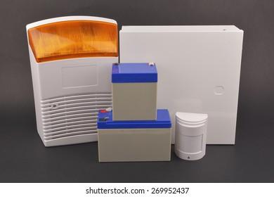 security alarm systems. Industrial or house alarm