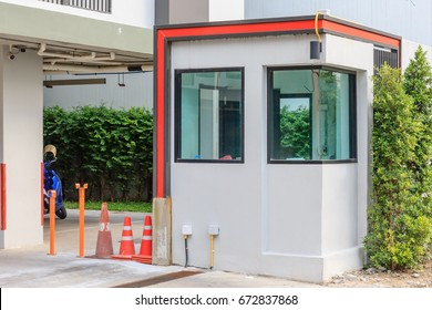 Security Booth for new apartment