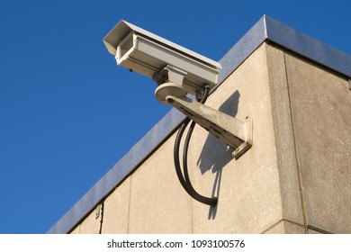 security camera outdoor surveillance crime protection