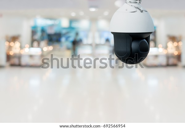 Security Camera System in Superstore