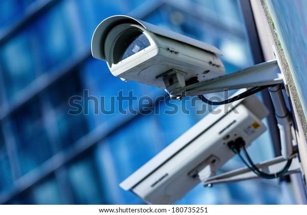 Sicherheitskamera und urbanes Video